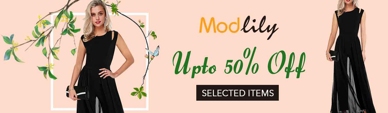 Modlily Discounted Promo Codes Voucher Codes